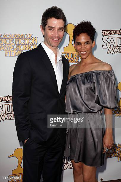 James Frain And Wife Marta Cunningham Attend 37th Annual Saturn Awards At The Castaway On June