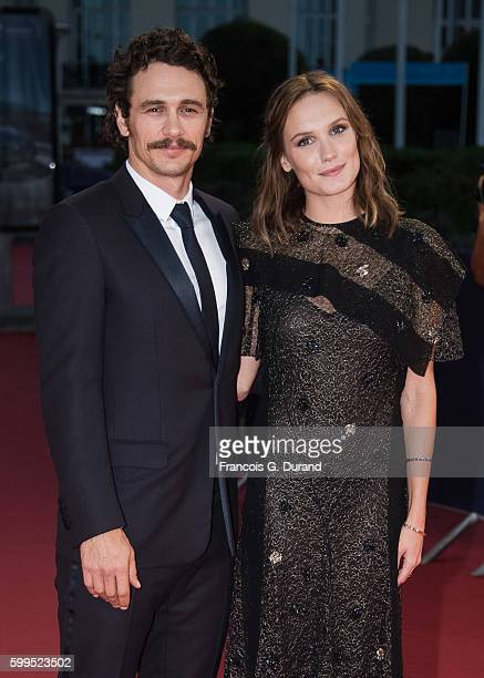 """James Franco and Ana Girardot attend the """"In Dubious Battle"""" Premiere during the 42nd Deauville American Film Festival on September 5, 2016 in..."""