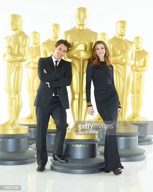 AWARDS¨ James Franco and Anne Hathaway will serve as cohosts of the 83rd Academy Awards Oscars telecast Academy Awards for outstanding film...