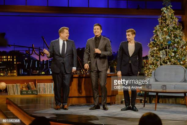 James Franco and Dave Franco chat with James Corden during 'The Late Late Show with James Corden' Monday December 11 2017 On The CBS Television...