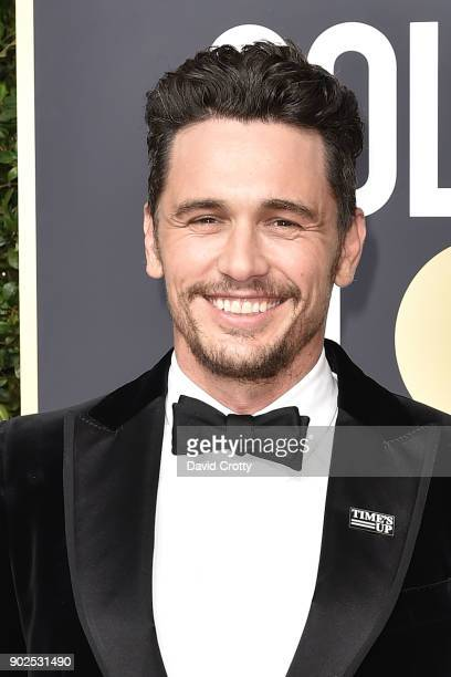 James Franco and Kyle Maclachlan attend the 75th Annual Golden Globe Awards Arrivals at The Beverly Hilton Hotel on January 7 2018 in Beverly Hills...
