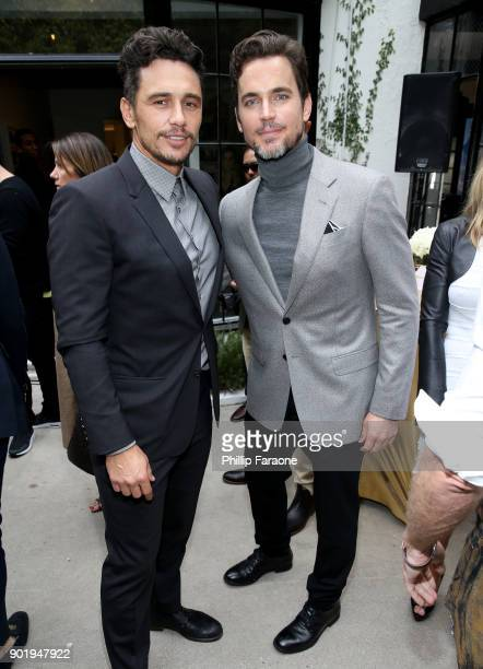 James Franco and Matt Bomer attend GOLD MEETS GOLDEN The 5th Anniversary Refreshed by CocaCola Globes Weekend Gets Sporty with Nicole Kidman and...