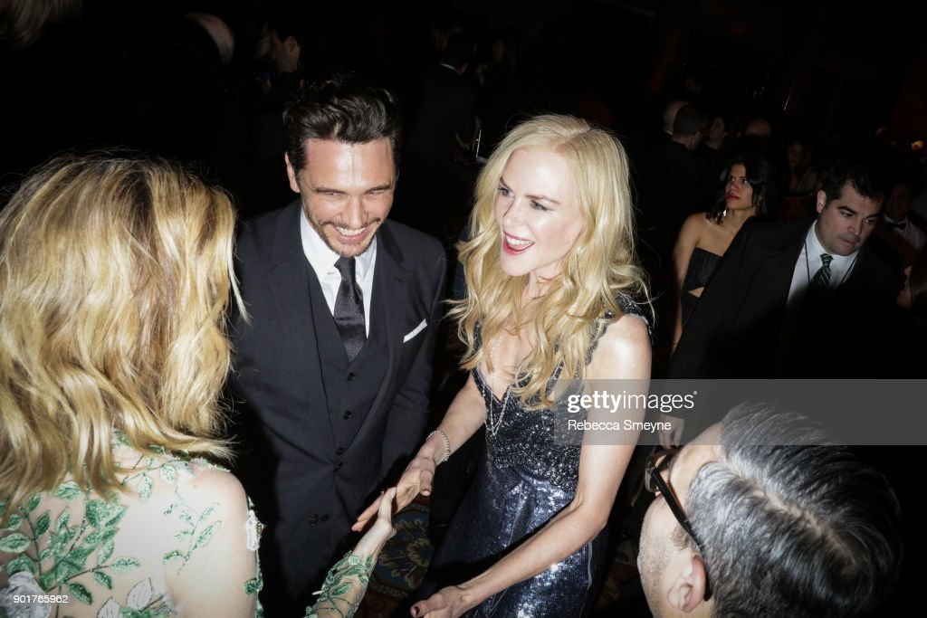 James Franco and Nicole Kidman attend the 2017 IFP Gotham Awards at Cipriani Wall Street on November 27, 2017 in New York, NY.