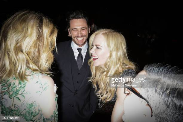 James Franco and Nicole Kidman attend the 2017 IFP Gotham Awards at Cipriani Wall Street on November 27 2017 in New York NY