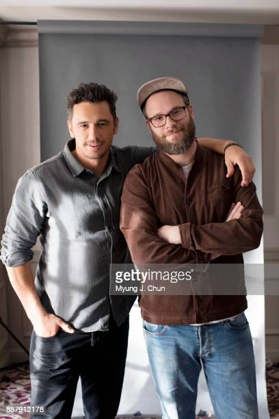 James Franco and Seth Rogen are photographed for Los Angeles Times on November 13 2017 in Los Angeles California PUBLISHED IMAGE CREDIT MUST READ...