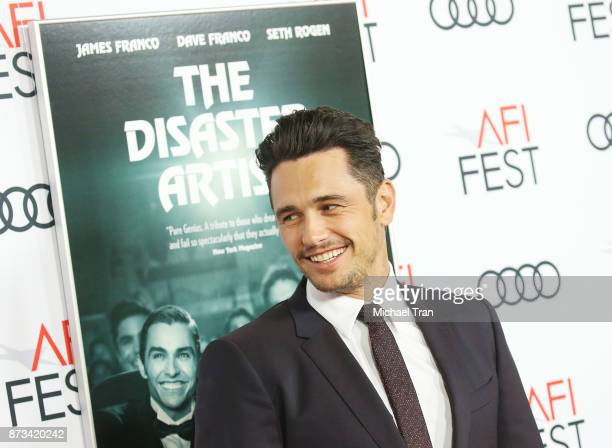 James Franco arrives to the AFI FEST 2017 presented by Audi screening of The Disaster Artist held at TCL Chinese Theatre on November 12 2017 in...