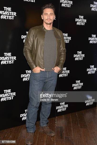 James Franco attends a preview screening of 'The Disaster Artist' at the Picturehouse Central on November 22 2017 in London England