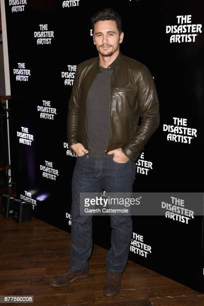 James Franco attends a screening of The Disaster Artist at Picturehouse Central on November 22 2017 in London England
