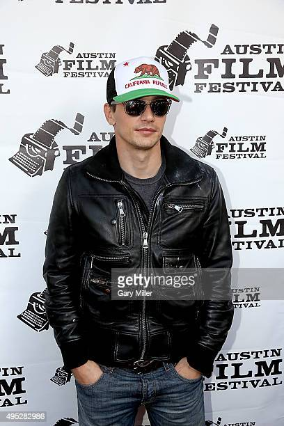 James Franco attends a screening of the new film 'Memoria' during the Austin Film Festival at the Paramount Theatre on November 1 2015 in Austin Texas