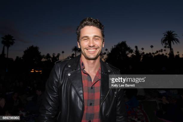 James Franco attends Cinespia's screening of 'North by Northwest' held at Hollywood Forever on May 27 2017 in Hollywood California