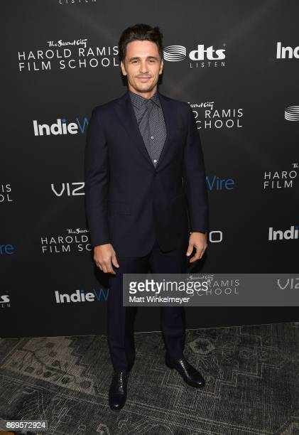 James Franco attends Inaugural IndieWire Honors on November 2 2017 in Los Angeles California