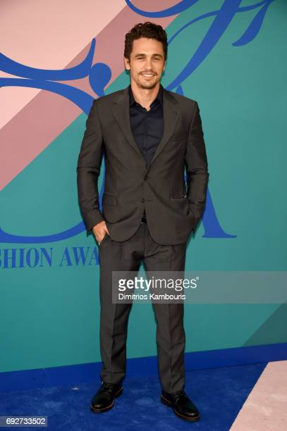 James Franco attends the 2017 CFDA Fashion Awards at Hammerstein Ballroom on June 5 2017 in New York City