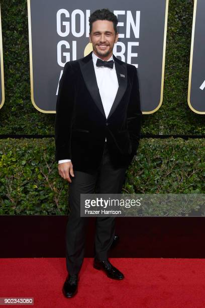 James Franco attends The 75th Annual Golden Globe Awards at The Beverly Hilton Hotel on January 7 2018 in Beverly Hills California