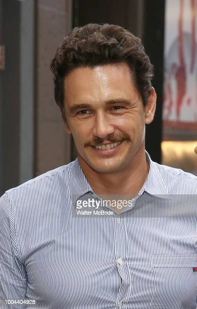 James Franco attends the Broadway Opening Night Performance of 'Straight White Men' at the Hayes Theatre on July 23 2018 in New York City