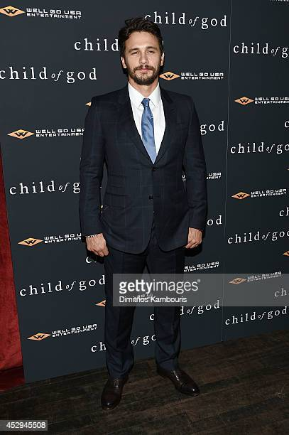 James Franco attends the Child Of God premiere at Tribeca Grand Hotel on July 30 2014 in New York City