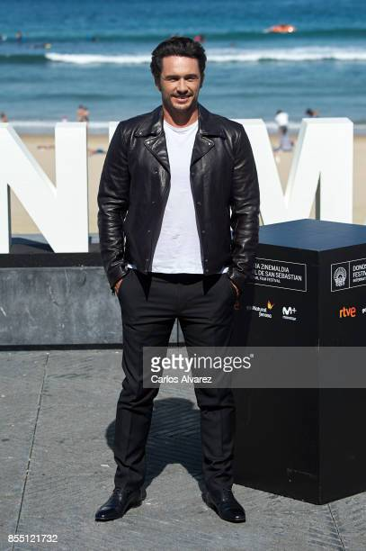 James Franco attends 'The Disaster Artist' photocall during the 65th San Sebastian International Film Festival on September 28 2017 in San Sebastian...