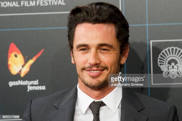 James Franco attends 'The Disaster Artist' premiere during 65th San Sebastian Film Festival on September 28 2017 in San Sebastian Spain