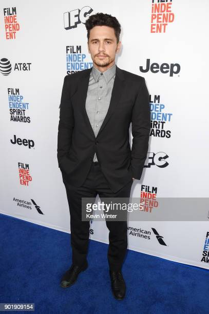 James Franco attends the Film Independent Spirit Awards Nominee Brunch at BOA Steakhouse on January 6 2018 in West Hollywood California