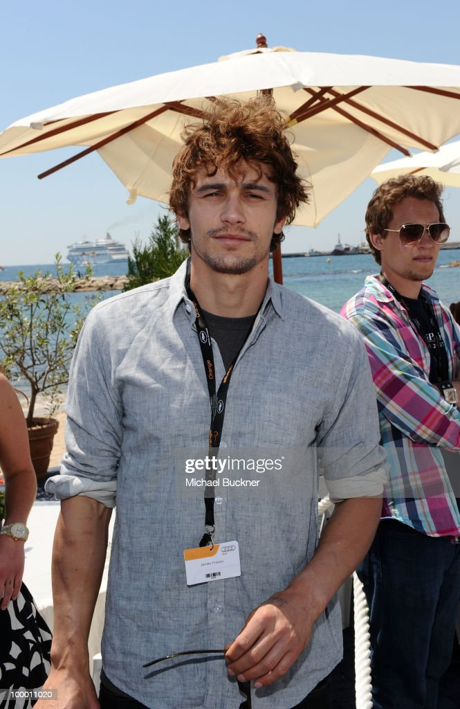 James Franco attends the James Franco Press Conference at the American Pavillion during the 63rd Annual Cannes Film Festival on May 20, 2010 in Cannes, France.