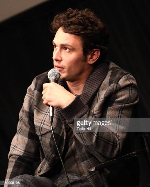 James Franco attends the NewFest 2013 Screening Of Interior Leather Bar at The Film Society of Lincoln Center Walter Reade Theatre on September 7...