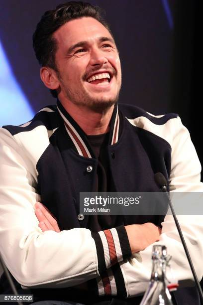 James Franco attends the screening and QA for The Disaster Artist at BFI Southbank on November 20 2017 in London England