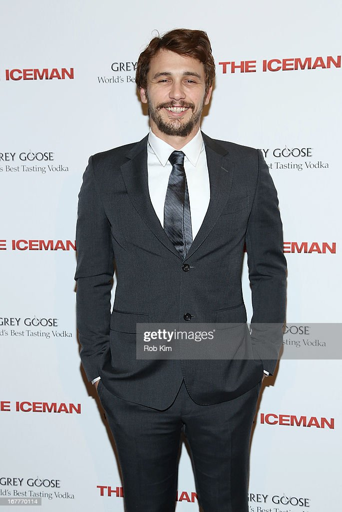 James Franco attends the 'The Iceman' screening presented by Millennium Entertainment and GREY GOOSE at Chelsea Clearview Cinemas on April 29, 2013 in New York City.