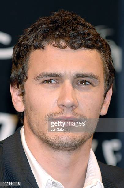 James Franco during 'SpiderMan 3' Tokyo Press Conference at Four Seasons Hotel Tokyo at Chinzanso in Tokyo Japan