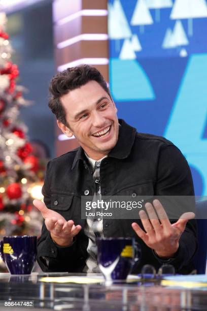 AMERICA James Franco is a guest on 'Good Morning America' Tuesday December 5 airing on the ABC Television Network JAMES