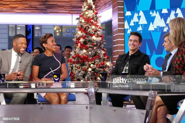 AMERICA James Franco is a guest on 'Good Morning America' Tuesday December 5 airing on the ABC Television Network MICHAEL