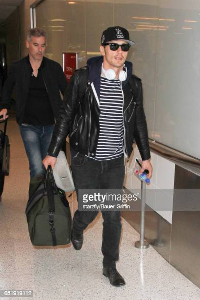 James Franco is seen at LAX on March 10 2017 in Los Angeles California