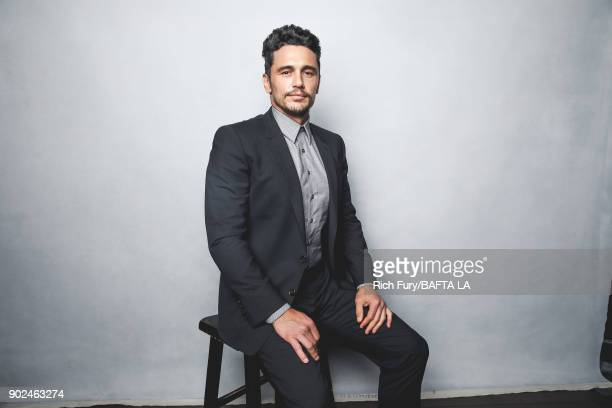 James Franco poses for a portrait at the BAFTA Los Angeles Tea Party on January 6 2018 in Beverly Hills California
