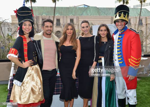 James Franco Sofia Vergara Elizabeth Chambers and Isabel Pakzad attend the Brooks Brothers and St Jude Children's Research Hospital Annual Holiday...