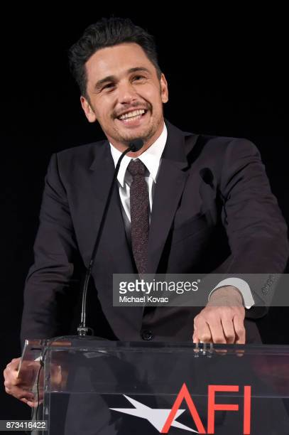 James Franco speaks onstage at the screening of 'The Disaster Artist' at AFI FEST 2017 Presented By Audi at TCL Chinese Theatre on November 12 2017...