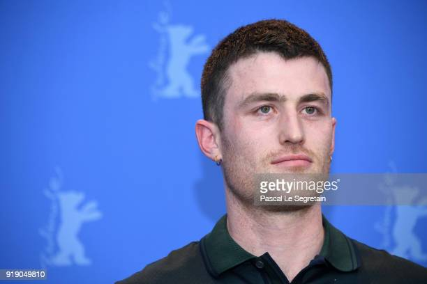 James Frecheville at the 'Black 47' press conference during the 68th Berlinale International Film Festival Berlin at Grand Hyatt Hotel on February 16...
