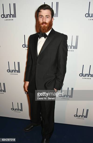 James Frecheville attends the dunhill and Dylan Jones preBAFTA dinner and cocktail reception celebrating Gentlemen in Film at Bourdon House on...