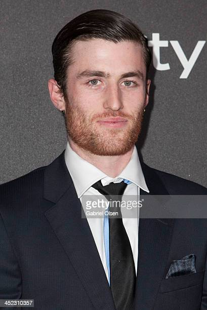 James Frecheville attends The Hollywood Foreign Press Association And InStyle Celebrates The 2014 Golden Globe Awards Season at Fig Olive Melrose...