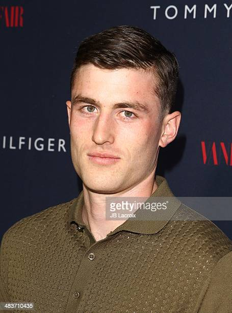 James Frecheville attends the Zooey Deschanel for Tommy Hilfiger Collection launch event at The London Hotel on April 9 2014 in West Hollywood...