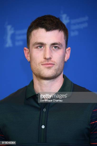 James Frecheville poses at the 'Black 47' photo call during the 68th Berlinale International Film Festival Berlin at Grand Hyatt Hotel on February 16...