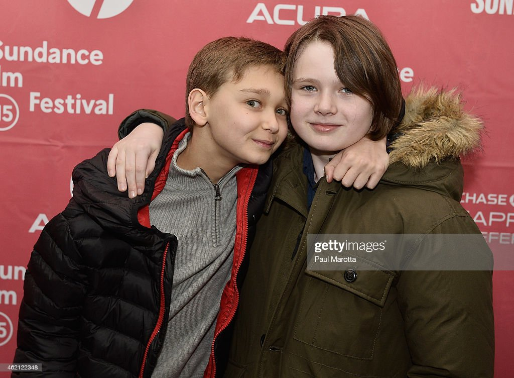James Freedson-Jackson and Hays Wellford attend the premiere of 'Cop Car' during the 2015 Sundance Film Festival on January 24, 2015 in Park City, Utah.