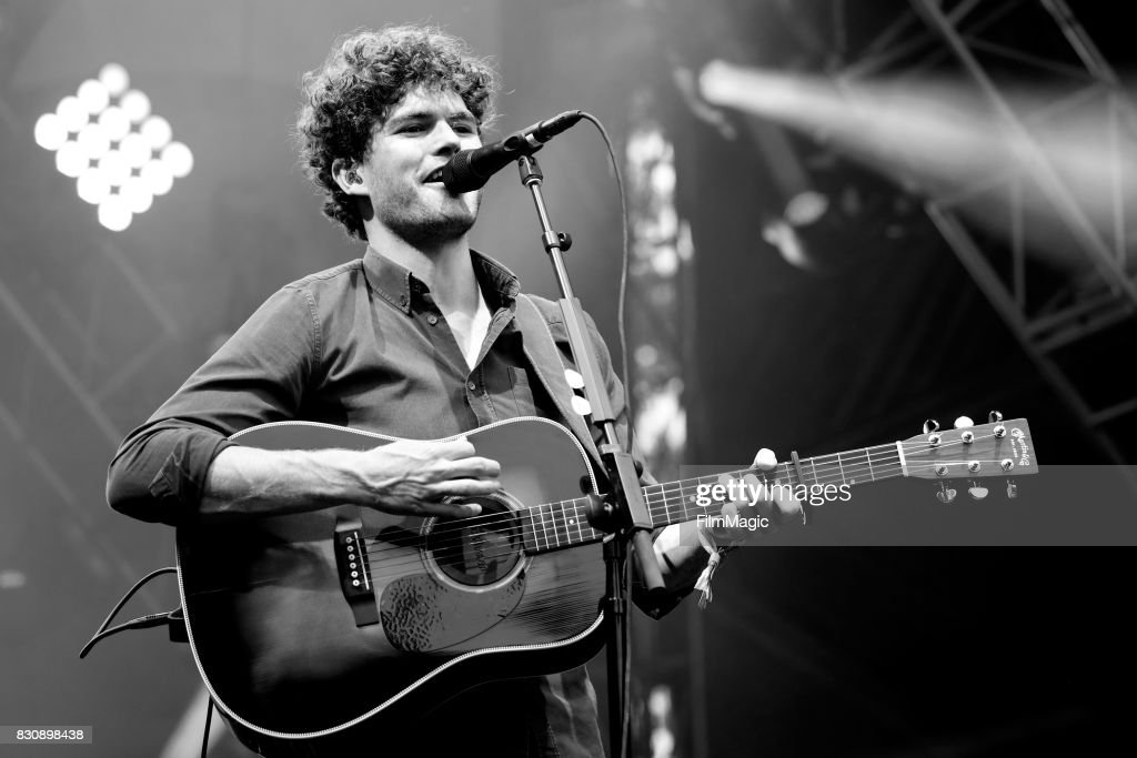 James Gabriel Keogh of Vance Joy performs on the Sutro Stage during the 2017 Outside Lands Music And Arts Festival at Golden Gate Park on August 12, 2017 in San Francisco, California.