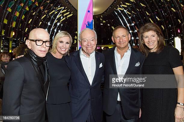 James Gager Senior Vice President Group Creative Director MAC Cosmetics Karen Buglisi President of MAC Cosmetics Leonard Lauder chairman emeritus of...