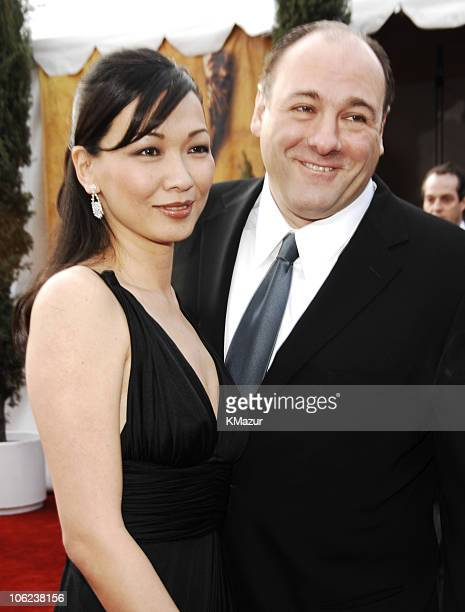 James Gandolfini and Deborah Lin 12864_KM_0605JPG