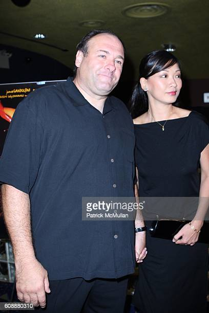 James Gandolfini and Deborah Lin attend New York Premiere Screening of JOHN TURTURRO's ROMANCE AND CIGARETTES at Clearview Chelses West Cinema on...