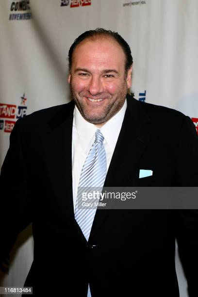 """James Gandolfini attends """"Stand Up For Heroes"""" a benefit for the Bob Woodruff Family Fund at The Town Hall in New York City on November 7, 2007"""