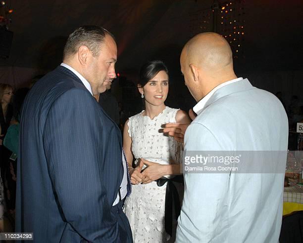 James Gandolfini Jennifer Connelly and Vin Diesel