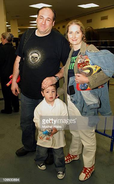 James Gandolfini Marcy Gandolfini and child