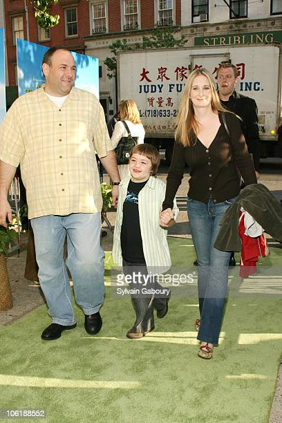 James Gandolfini son Michael and exwife Marcy Gandolfini