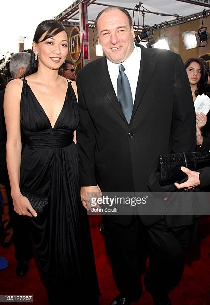 James Gandolfini with former model and modeling agent Deborah Lin 12864_JS_0096jpg