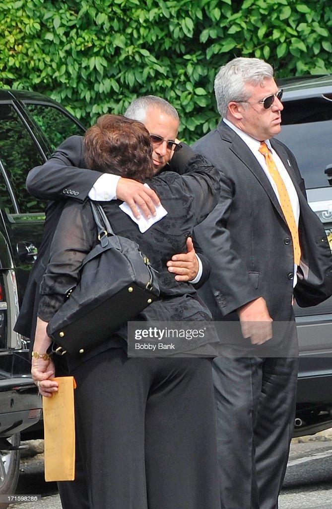 Private Visitation For Actor James Gandolfini : News Photo