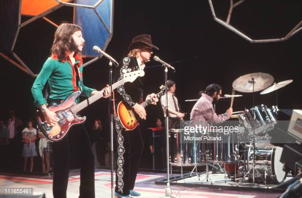 James Gang perform on Top Of The Pops LR Dale PetersJoe WalshJimmy Fox